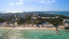 A Glimpse of Playa Norte on Isla Mujeres, Mexico