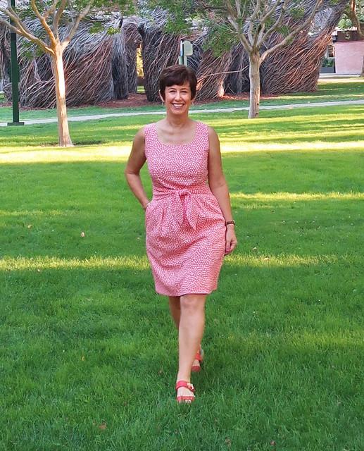 orange dress 1