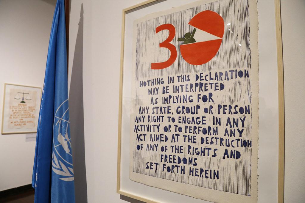 Exposição da ONU no Rio celebra 70 anos da Declaração Universal dos Direitos Humanos