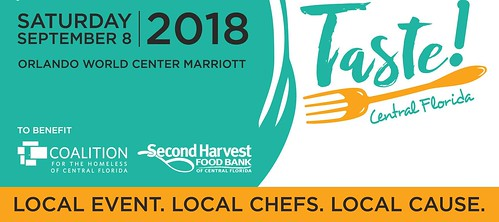"Save the Date for ""TASTE! CENTRAL FLORIDA"""