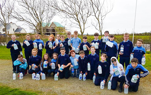 The CSPE Class from Ramsgrange Community School, Ireland, did a Walk for Life to celebrate National Water Day and Green schools.