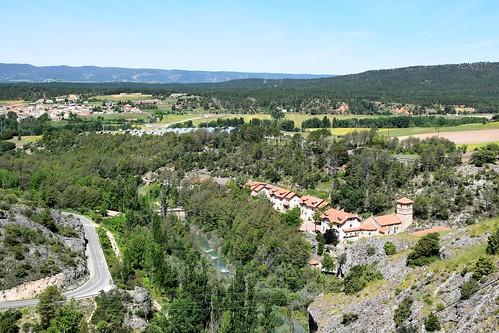 Paisaje en Cuenca (Castilla-La Mancha, España, 18-6-2018)