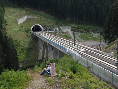 ICE Tunnel bei Goldisthal