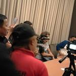 5b-Vassula being interviewed by 3 local radio stations
