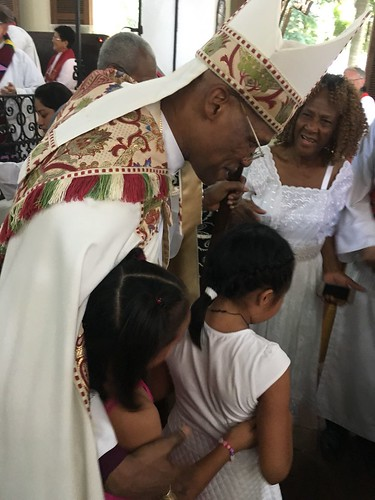 Scenes from the installation of Archbishop Julio Murray as Primate of the Anglican Church of Central America Region - c