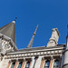 Building of the Royal Courts of Justice in London