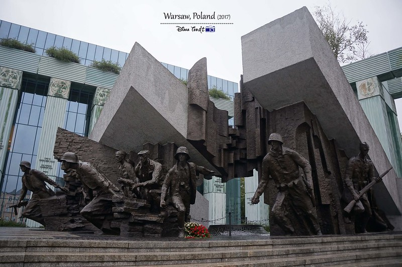 2017 Europe Warsaw Uprising Monument