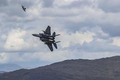 2 F15s Climbing