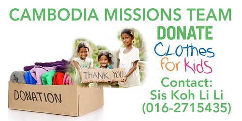 cambodia missions clothes donation