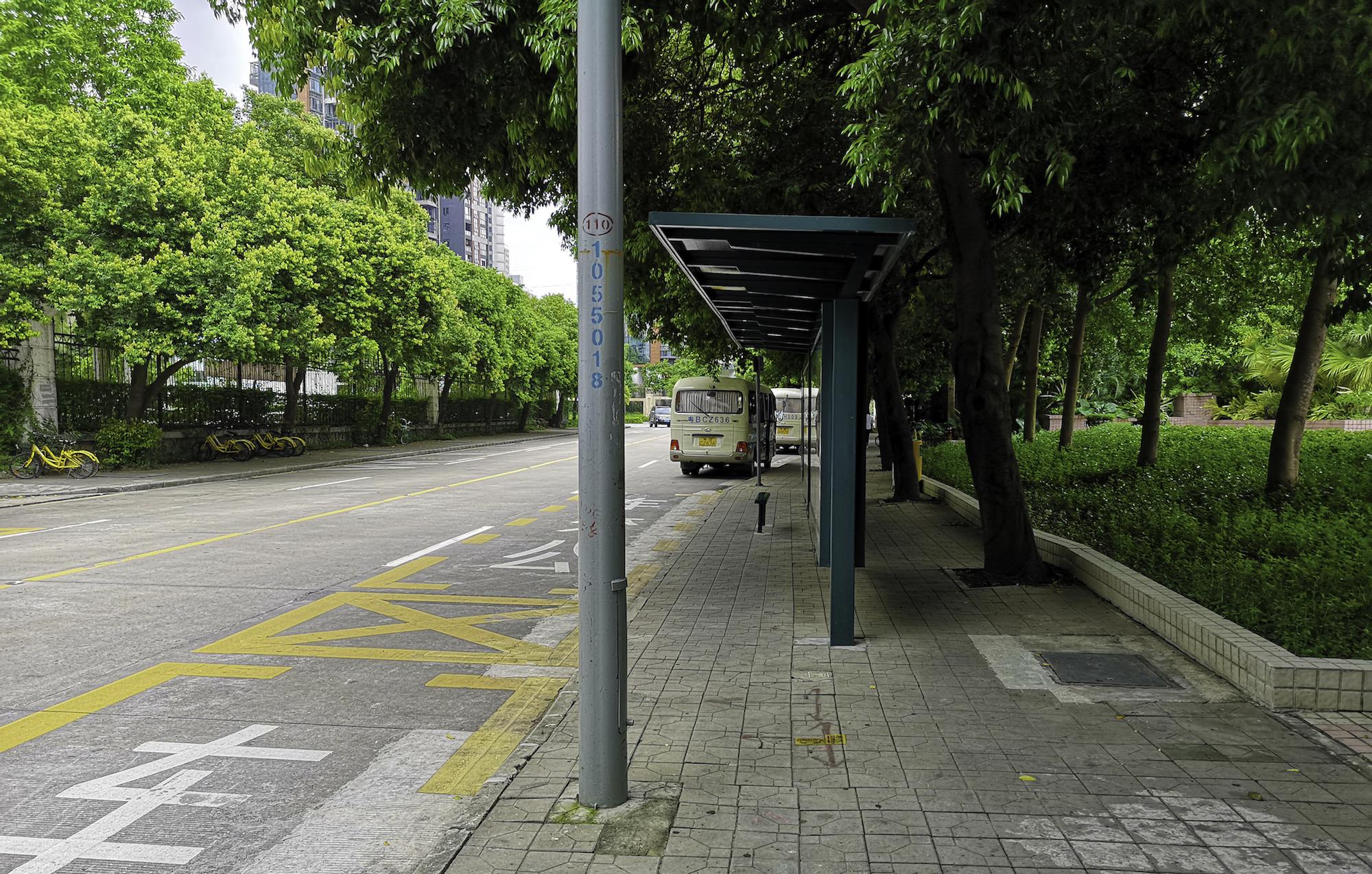 Shenzhen-Bus-Stop