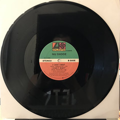 NU SHOOZ:I CAN'T WAIT(RECORD SIDE-B)