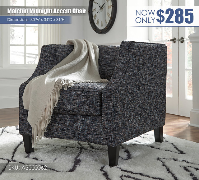 Malchin Midnight Accent Chair_A3000062