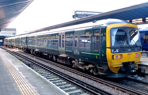 Class 165 'Great Western Railway' No. 165111. BREL York built DMU on Dennis Basford's railsroadsrunways.blogspot.co.uk'