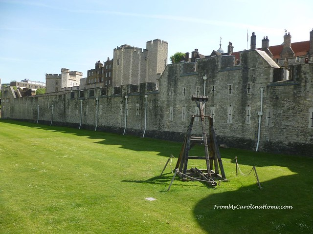Tower of London, England at From My Carolina Home