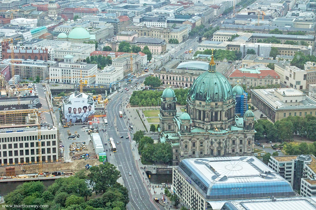View from Fernsehturm