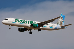 N717FR | Airbus A321-211/W | Frontier Airlines Luna & Lilly the Wo