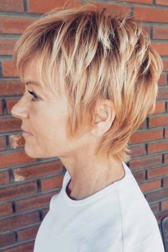 60+Pretty Ladies Short Haircuts -They Have Dreamt Of This Hairstyles 2