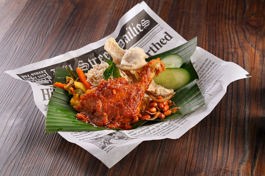 Singapore Restaurant Festival 2018 Hill Street Coffee Shop - Sambal Chicken Nasi Lemak