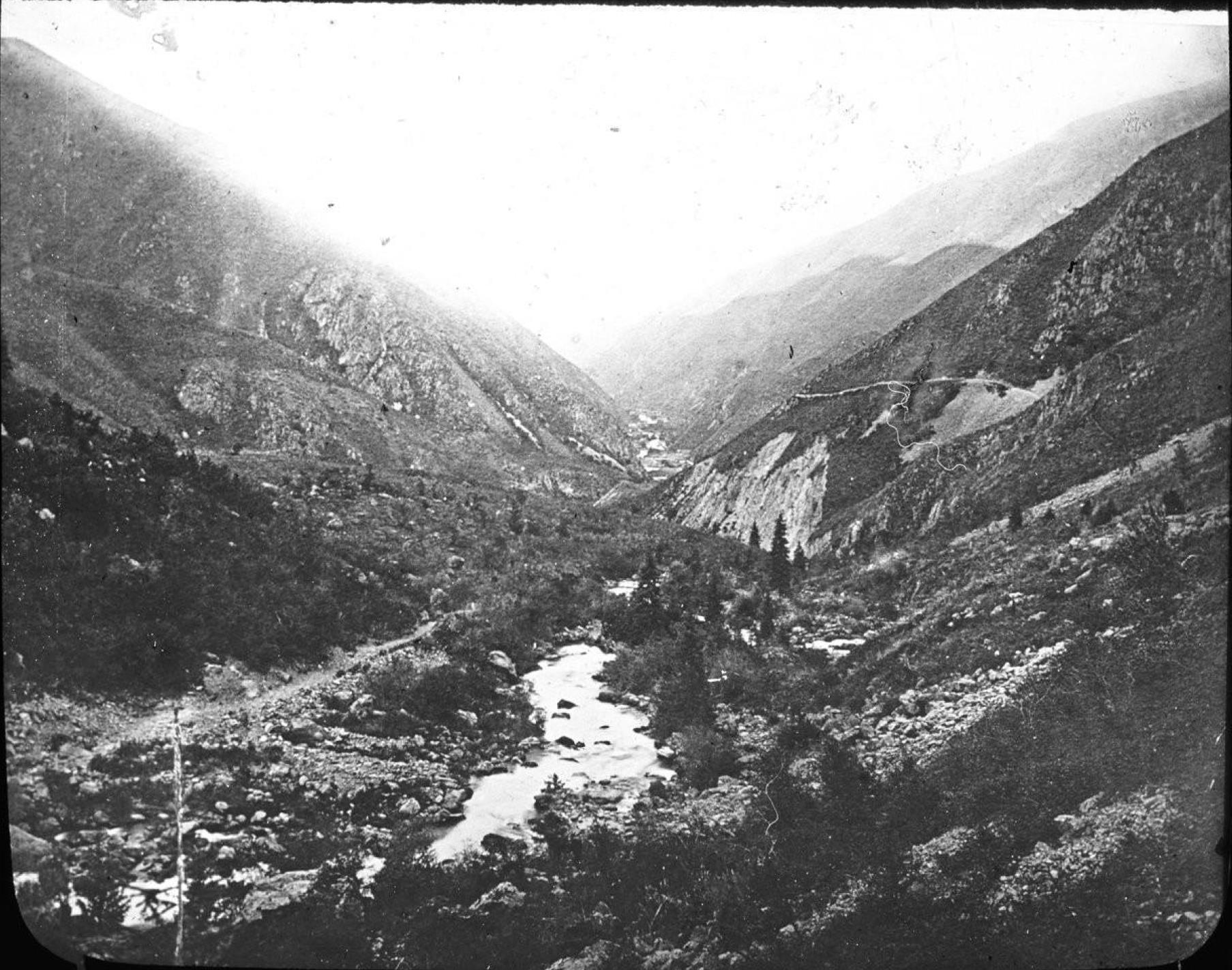Долина в Тянь-Шане
