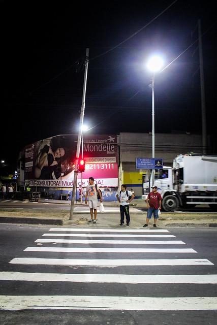 03.08.18 Iluminação a LED e Faixa de Pedestre revitalizada na Avenida Torquato Tapajós