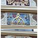 Gevelstenen op een huis, Kerkplein Hoorn by Olga and Peter