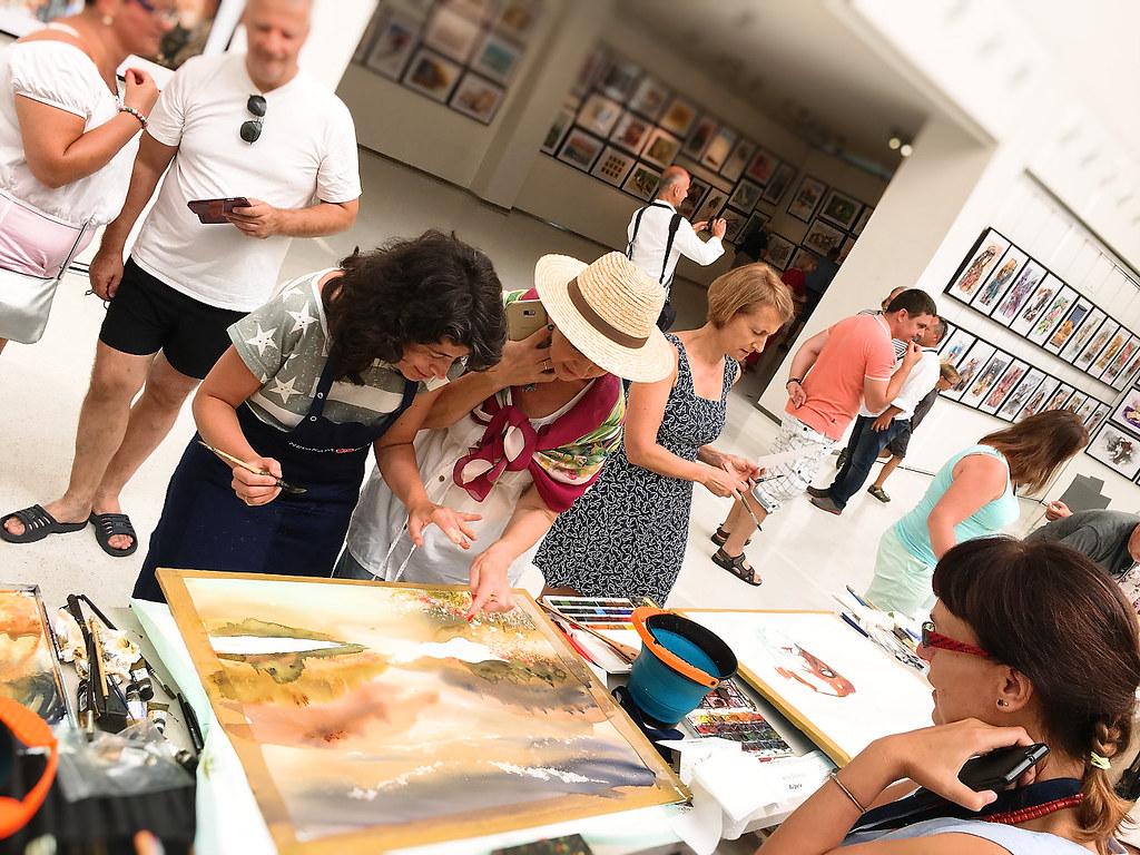 Mezinárodní festival akvarelové tvorby @ Praha