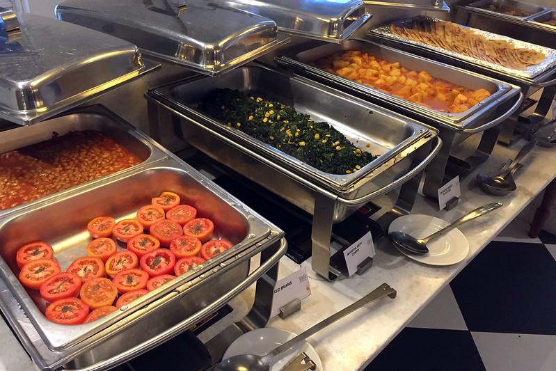 Arusha breakfast buffet