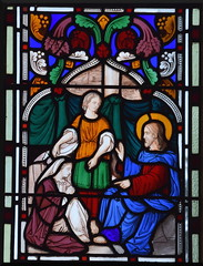 Christ with Martha and Mary at Bethany (1840s?)