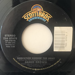 JAMES BROWN:STATIC(LABEL SIDE-B)