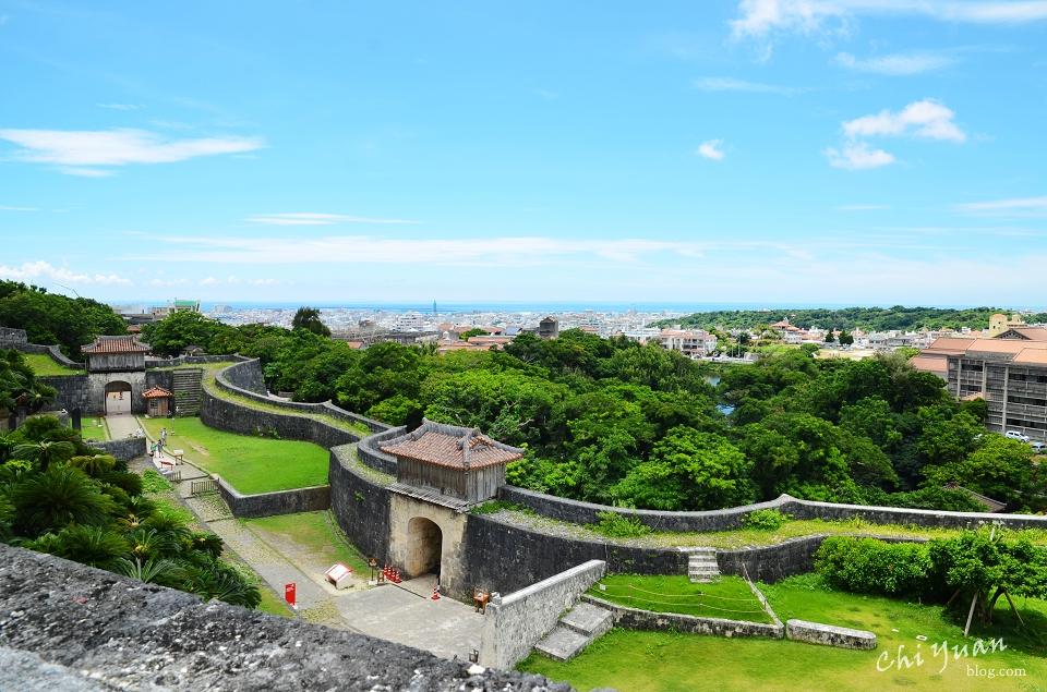 [日本。沖繩]那霸首里城公園。傳承琉球王國時代的世界文化遺產