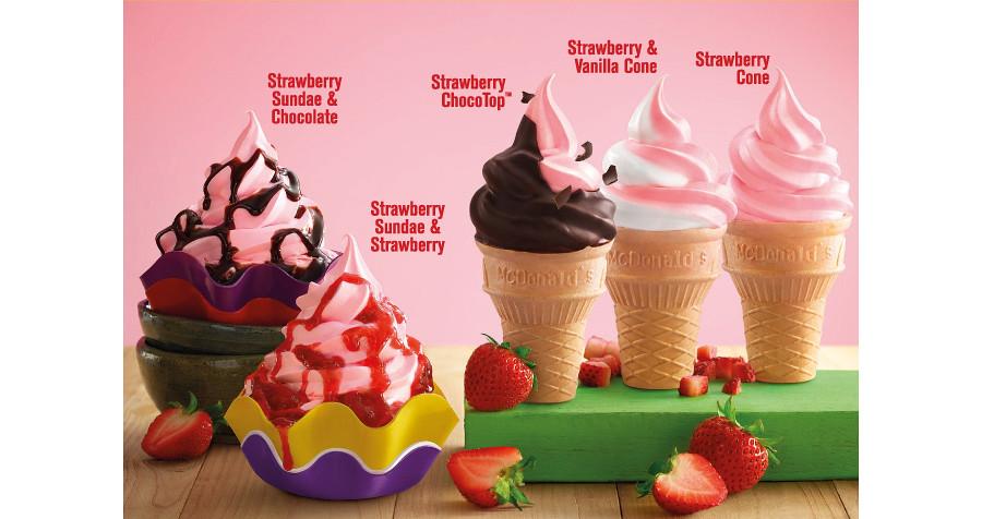 strawberry-cone