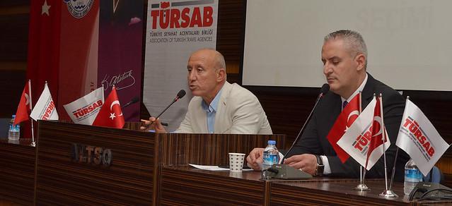 TÜRSAB'ın yeni başkan Korkmaz oldu