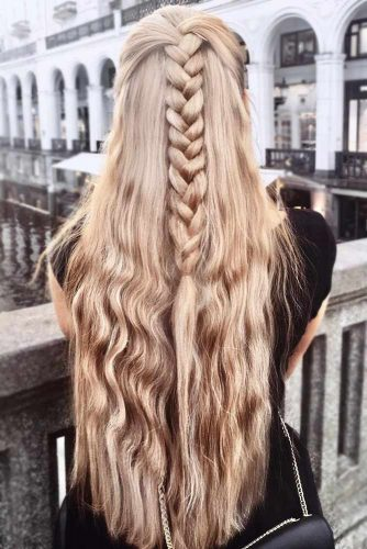 30+Most Stunning French Braid Hairstyles To Make You Amazed! 14
