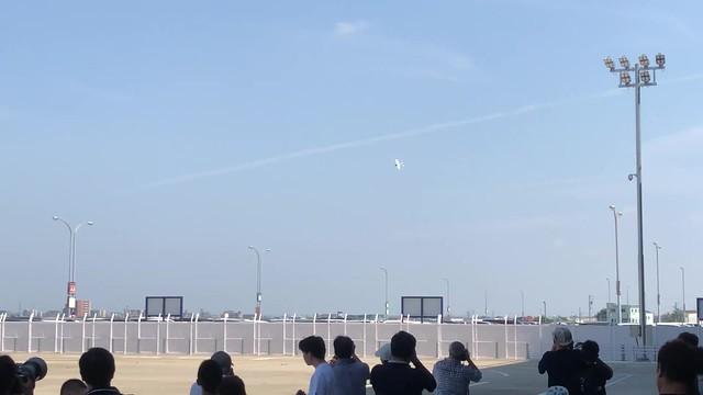 航空フェスティバル2018in愛知 空飛ぶたぬき氏 飛行展示 IMG_0755