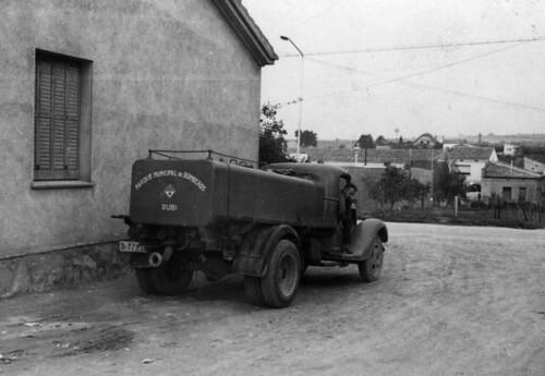 camió Ford parc bombers Rubí restaurat Sr Marcet
