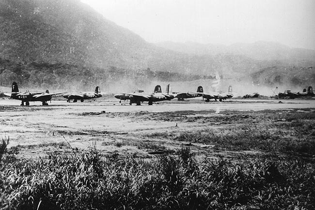 A-20s at Hollandia