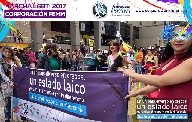 Femm en la Marcha LGBTI 2017