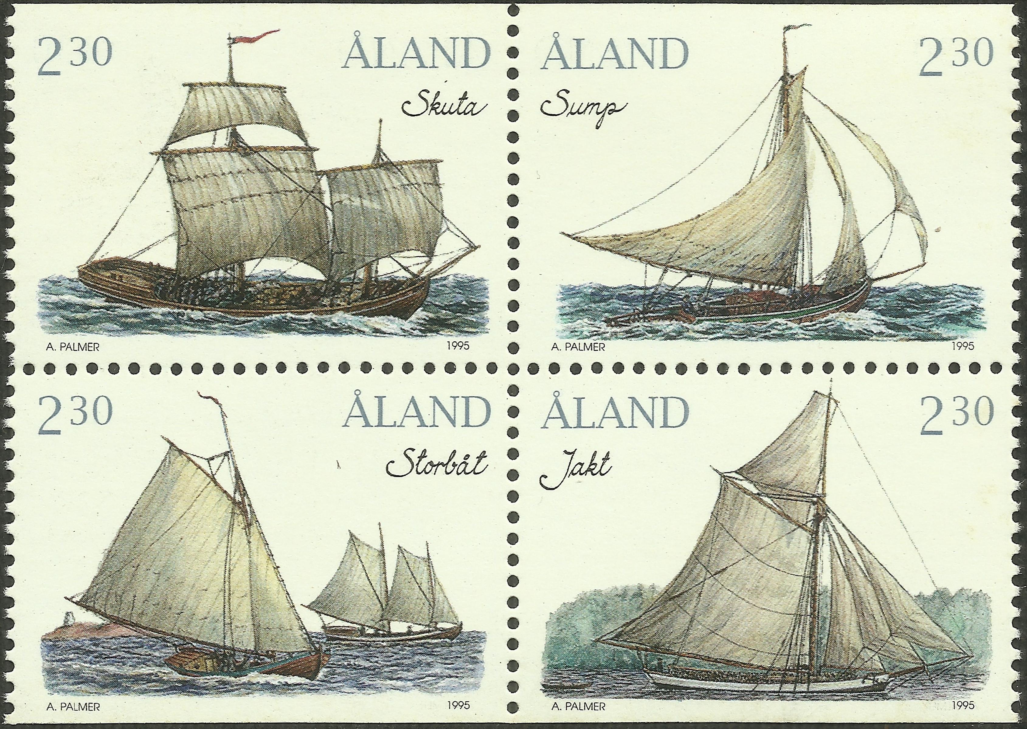 Åland Islands - Scott #109-112 (1995)