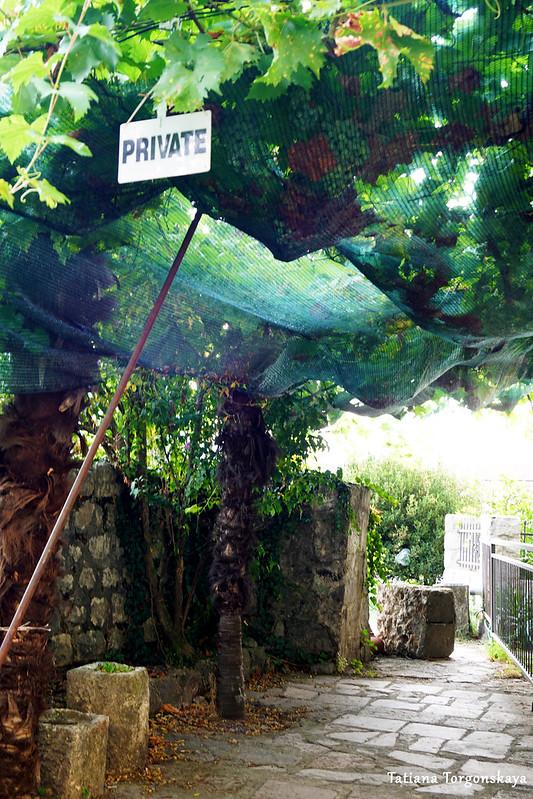 Выход на крепостные стены возле бастиона Гурдич