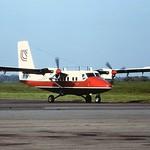 G-BHTK Twin Otter Loganair CVT 23-05-84
