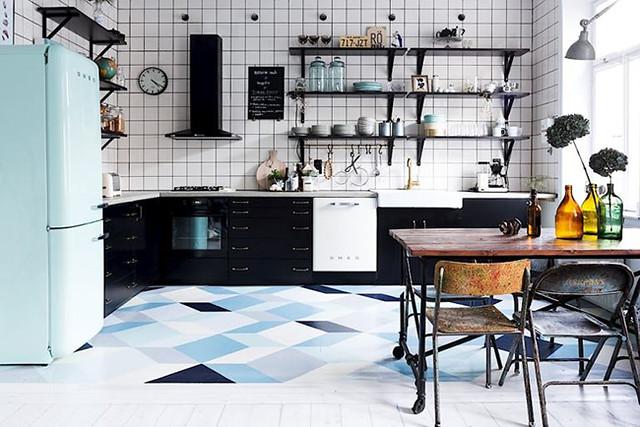 01 Cocina sueca estilo retro
