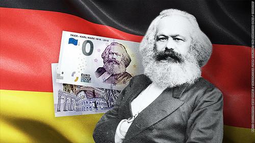 Karl Marx Zero Euro note