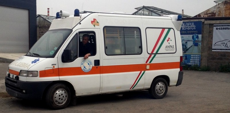 Ambulanza Anpas in Armenia