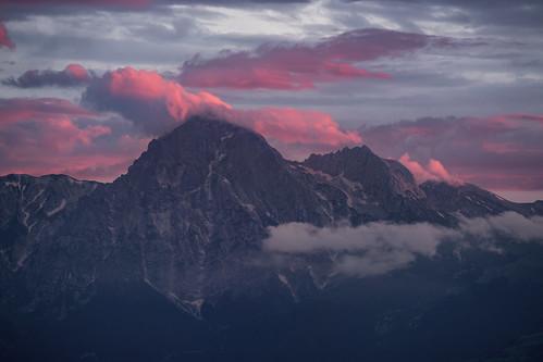Gran Sasso, sunset.