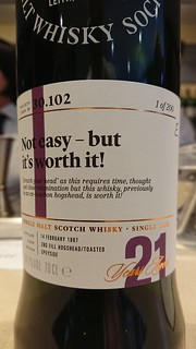 SMWS 30.102 - Not easy - but it's worth it!