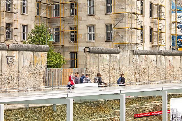 Il Muro visto da Topographie des Terrors