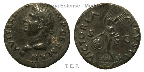 Este countermarked coin