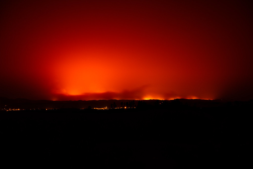 Forest Fires in the Serra de Monchique, Algarve