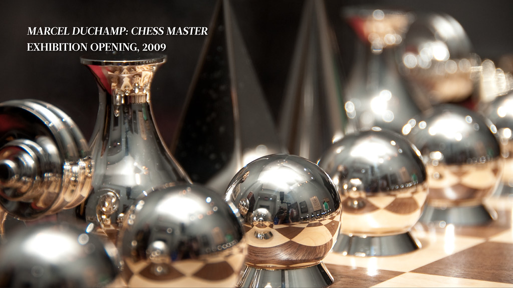 The Sinquefield Effect: Marcel Duchamp, Chess Master Exhibition Opening