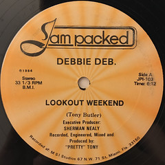 DEBBIE DEB:LOOKOUT WEEKEND(LABEL SIDE-B)